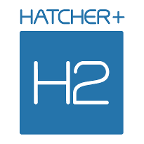 Hatcher+ logo blue
