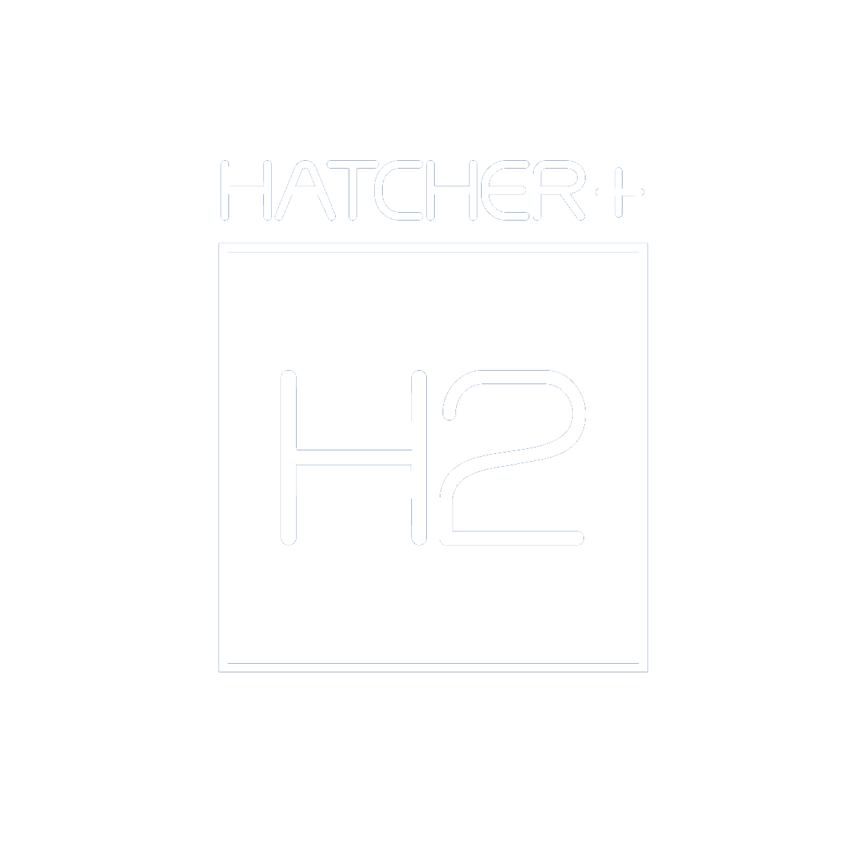 Hatcher+ logo transparency